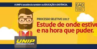 Vestibular UNIP 2017